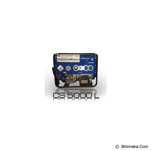 HIGHLANDER LPG Genset [CS-5000 L] - Genset Gas